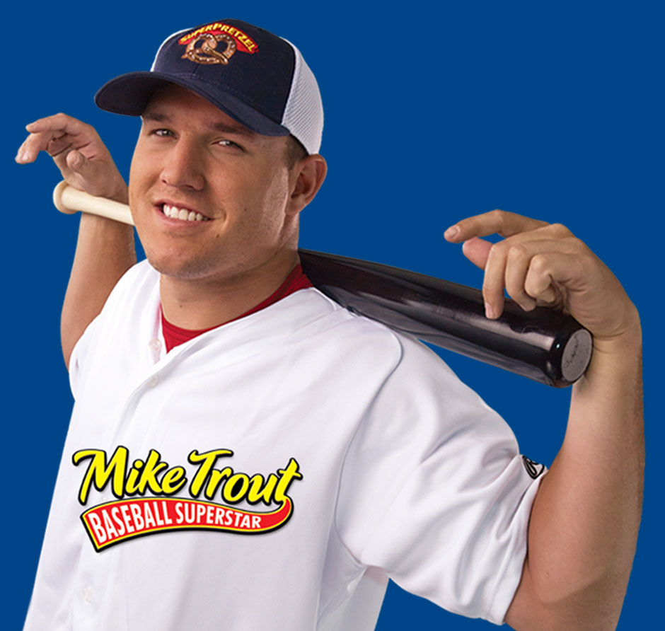 Mike Trout Baseball Superstar